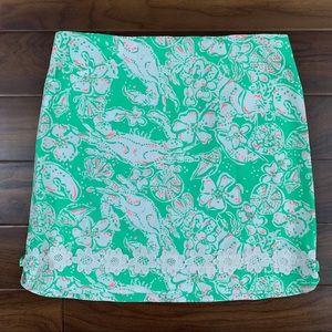 Lilly Pulitzer Glenda Beach Bash Corrie Skirt
